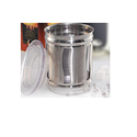 Stainless Steel Transparent Canister