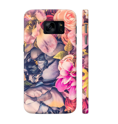 Colorpur Vintage Flowers Artwork On Samsung Galaxy S7 Cover