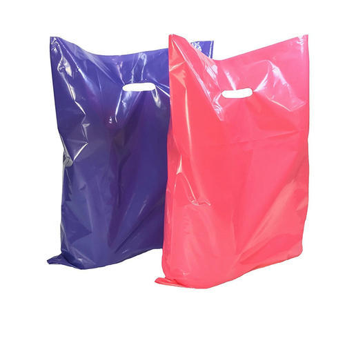 Plain D Cut Carry Bags
