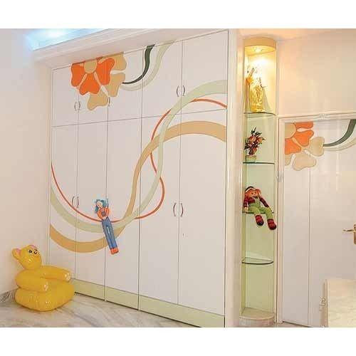 Bedroom Designs From Professionals In Hyderabad  C2NyYXBlLTEtRHBWSGVH: Designer Wooden Bedroom Wardrobe, Wooden Bedroom Wardrobe
