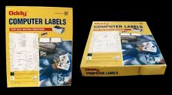 Oddy Dot Matrix Paper Labels Box Packing - 200 Sheets/Box