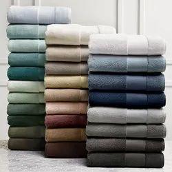 Coloured Bath and hand towel