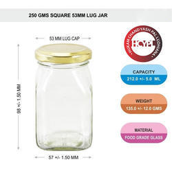 250 Gram Honey Jar