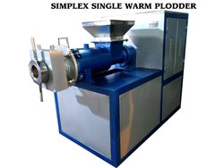 Semi Automatic Single,3 Phase Ditergent soap making machine (simplex plodder), 3 Hp, Production Capacity: 500 To 1000kg