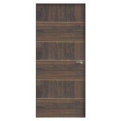 Brown 7 To 8 Feet Honecore Flush Door, for Residential and Commercial
