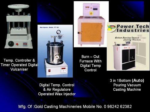 Gold Jewellery Casting Machine Equipment At Rs 799 Set Bhakti Nagar Rajkot Id 14429573762