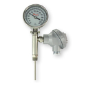 Bimetal Thermometer With Transmitter Output
