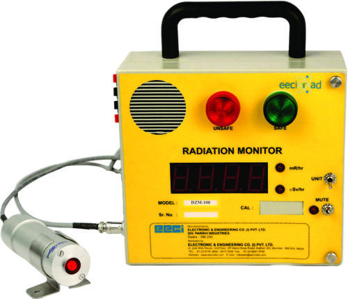 Radiation cum contamination monitor