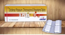 Diclofenac Potassium 50 mg, Paracetamol 500 mg & Chlorzoxazone 250 mg