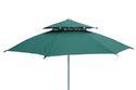 Garden Umbrella-8' Tiltable-double Layer-green