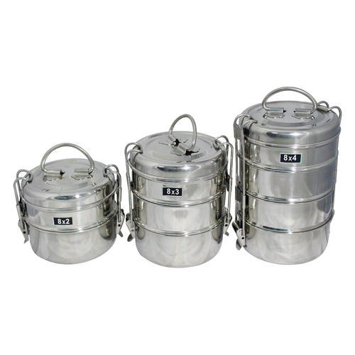 Stainless Steel Tiffin Carriers