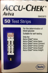 Accuchek Aviva Test Strips