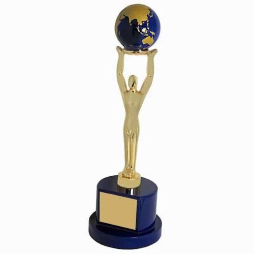 Blank Wood & Metal Trophy