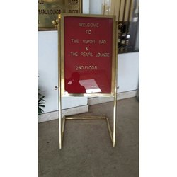 Welcome Display Stand