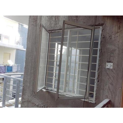 Aluminum Window Works Service, Location: India