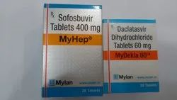 MyHep 400 mg & MyDekla 60 Mg Tablets