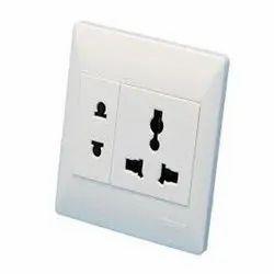 100 A 2 Pin,3 Pin Electrical Socket, 240 V