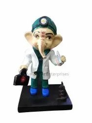 Return Gift Doctor Ganesha Polyresin Statue