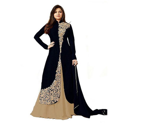 ef74468287 Indo- Western Salwar Suit at Rs 1099 /piece | Semi Stitched Suits ...