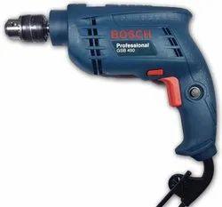 Bosch Drill Machine Kit GSB 450, Warranty: 6 months