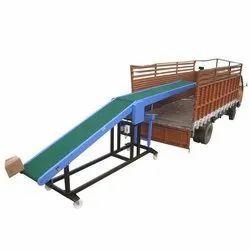 Hydraulic Truck Loading Conveyor