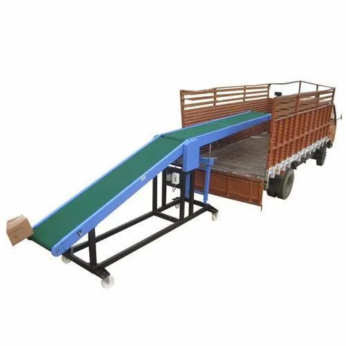 Hydraulic Truck Loading Conveyor