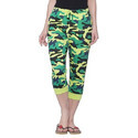 Clifton Womens Army Comfort Capri