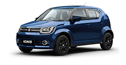 NEXA Blue Maruti Suzuki Ignis Car