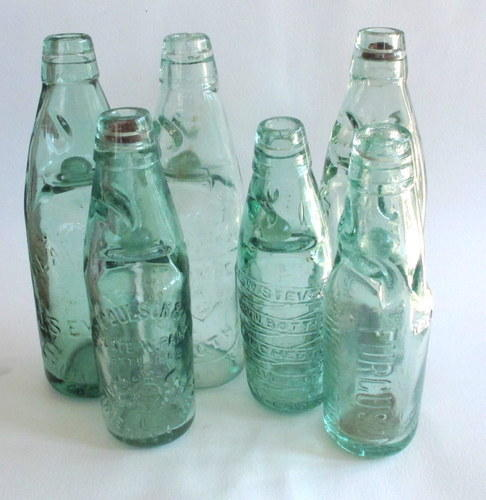 Codd Neck Glass Bottle