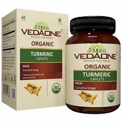 Yellow Turmeric Caplet, For medicine