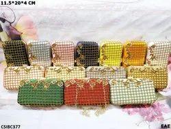 Designer Box Clutch Bag