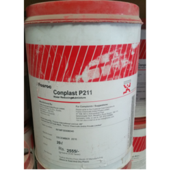 Conplast P211 Concrete Admixture, Packaging Type: Bottle