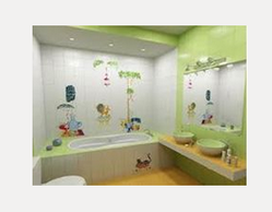 Amazing Kids Bathroom Wall Tiles