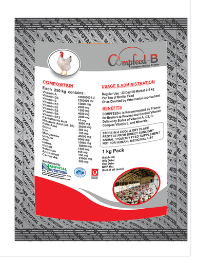 Complete Broiler Feed Premix (compfeed B)