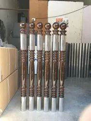Stainless Steel SS 202 Balcony Master Pillar for Construction