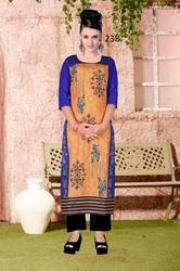 Long Digital Print Kurti