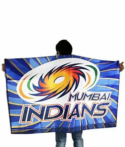 Sports Flags Mumbai Indian Flags Manufacturer From Surat