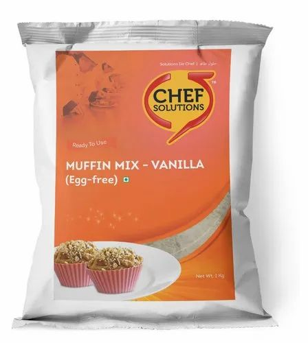 Cream Coloured Muffins Muffin Mix (Egg-Free) Vanilla
