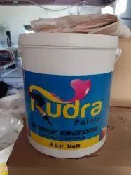 Rudra 4L Acrylic Emulsion Paints