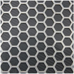 MS Anodized Perforated Sheet