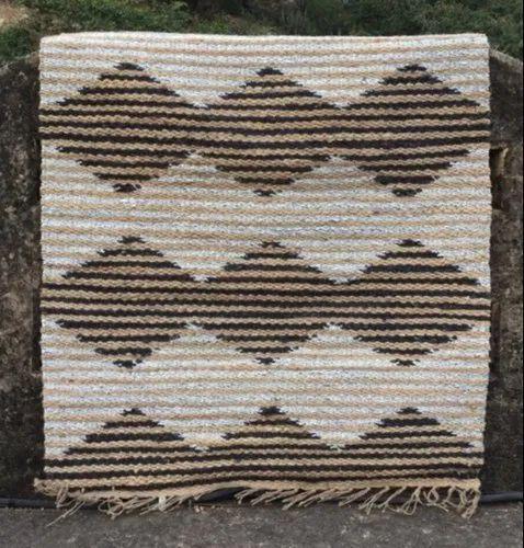Hemp Rug Jute Chindi Floor Rug Handmade