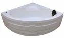 Leo Jacuzzi Bathtub - 4.5' Corner - White