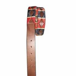 Brown Men casual Leather Belt, Size: 40- 50 Inch