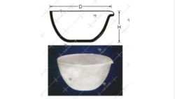 Deep Form Basin with Spout