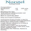 Norfloxacin Dusting Powder