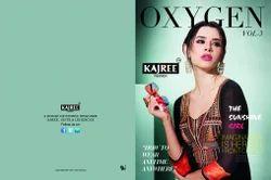 Latest Oxygen vol-03 Rangoli georgette kurtis