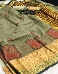 Kashmiri Work Saree