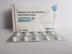 Mefenamic Acid 250mg Drotaverine 80mg Tablets