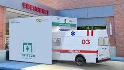 Sanitizer Tunnel For Car Ambulance