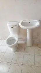 White Italian Water Closet,  Packaging Type: Box